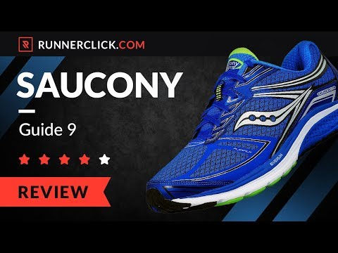Saucony Guide 9 Review & Rating in 2018  | Runnerclick.com