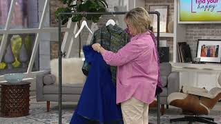 Revers-A-Poncho 2-in-1 Poncho with Storage Pocket by Reversabrella on QVC