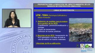 SFCM 13/14 4: Propuestas para reducción del impacto amb. de los residuos de construcción y demolición