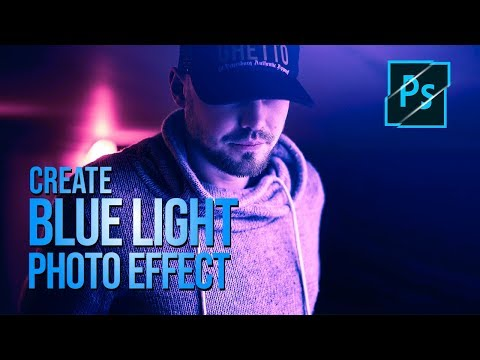 Blue Magenta Color Photo Effects Photoshop CC 2019 Trick | Arunz Creation