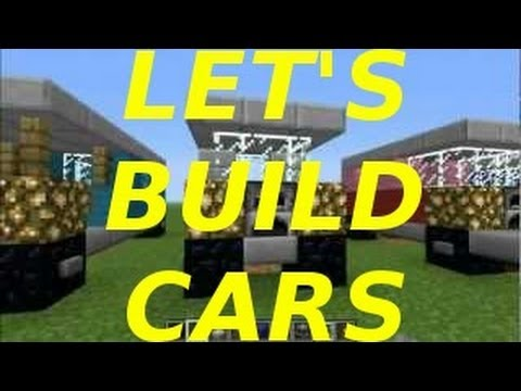 Building Cars A Minetorial Minecraft Blog