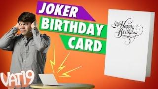 Ultimate Birthday Prank Card
