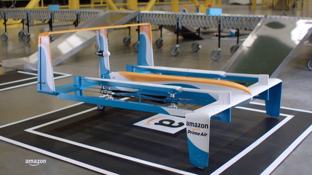 Watch Jeremy Clarkson Talk Amazon's New Drones