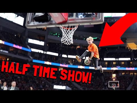 i performed at a nba half time show