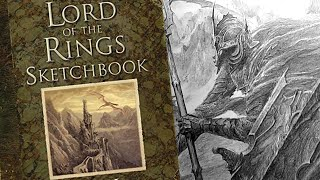 The Lord Of The Rings Sketchbook Alan Lee Preview Fantasy Art Books