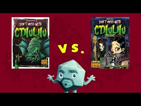 A Look at Deluxe Don't Mess with Cthulhu - with Zee Garcia