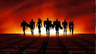 Justice League Intro (Blu Ray 1080p HD)
