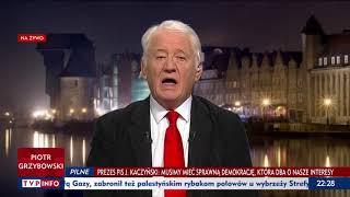 Wyszkowski w TVP Info rzuca ciężkie oskarżenia w kierunku Donalda Tuska.