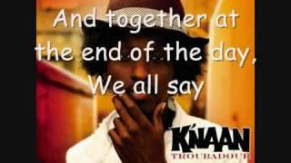 K'NAAN   Wavin' Flag (Coca Cola Celebration Mix Lyrics)