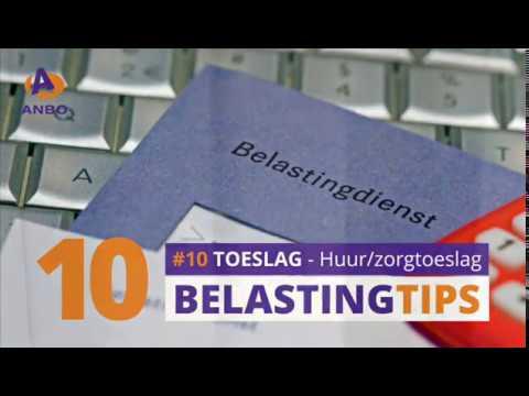 Belastingtip #10 - Huur- en zorgtoeslag