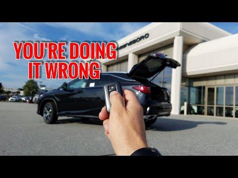 5 SECRETS About The Lexus RX 350 Power Rear Door