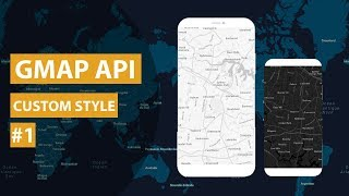 Google Map API : Custom Map Style Android Studio Tutorial