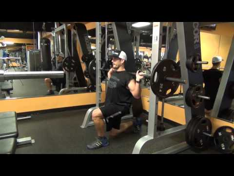 Smith Single-Leg Split Squat