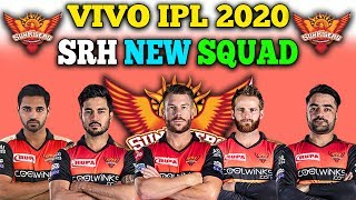 IPL 2020 Sunrisers Hyderabad Final Team Squad | SRH Full Players List 2020 | SRH New Team IPL 2020