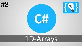 C# Tutorial Deutsch / German [8/20] - 1D Arrays
