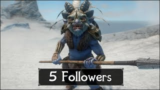 Skyrim: 5 More Special Followers You Should Not Let Go in The Elder Scrolls 5: Skyrim