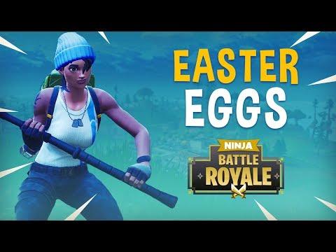 Easter Eggs?! - Fortnite Battle Royale Gameplay - Ninja