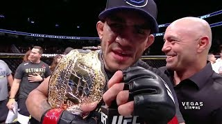 UFC 216: Tony Ferguson and Kevin Lee Octagon Interviews