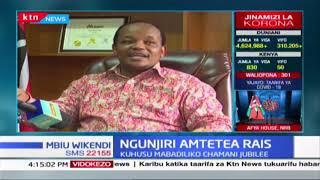 Mbunge wa Nyeri Mjini amtetea Rais Uhuru kwa kuwatema maseneta Murkomen na Kihika