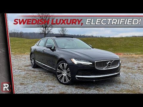 The 2021 Volvo S90 Recharge is an Exclusive Swedish Flagship Luxury Sedan