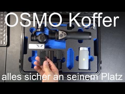 Perfekter Osmo Koffer für die DJI Osmo - B&W Outdoor Case