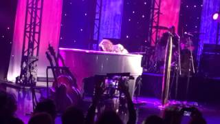 You See Me Cryin / Dream On Steven Tyler on piano Loving Mary Niagara Falls Fallsview Casino 3/31/16