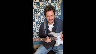 John Mayer On Instagram Live - Guitar Lesson In Montana - May 7,2020