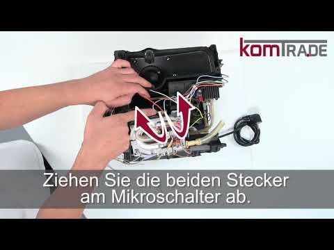 EAM/ESAM Thermoblock ausbauen-ersetzen-tauschen-einbauen Delonghi Ersatzteile Reparaturanleitung