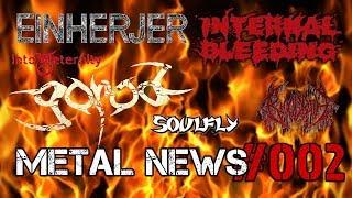 SOULFLY, INTERNAL BLEEDING, GOROD, BLOODBATH | METAL NEWS #002 | Новости метал-музыки | Октябрь 2018