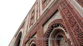 Alai Darwaza : Qutub Minar, the entrance to the Quwwat-ul-Islam Mosque
