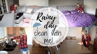 RAINY DAY CLEAN WITH ME 2019  //  MOTIVATIONAL WEEKEND CLEAN  //  CLEANING MOTIVATION  //  SAHM