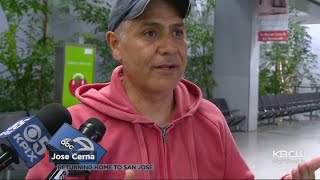 Travelers From Mexico City Arrive In San Francisco Bay Area After Earthquake
