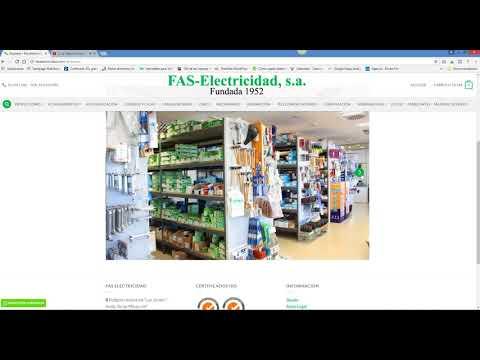 Diseño de tienda online suministros eléctricos - Diseño web Jaén