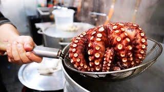 Japanese Street Food – OCTOPUS BALLS Osaka Style Takoyaki Karl's Balls NYC