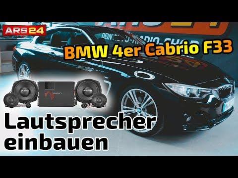 BMW 4er Cabrio F33 | brutales Soundsystem - Boxmore BMW DSP | ARS24