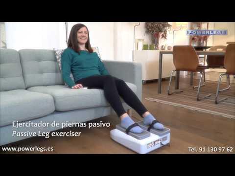 La Maquina Que Mueve Tus Piernas Powerlegs -  Ejercitador De Piernas Pasivo, Ejercicio Para Abuelos