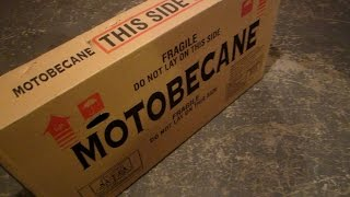 Bike Build 01 Unboxing Motobecane Fixie Cafe CF Bicycle BikeBlogger