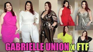 Gabrielle Union x Fashion To Figure Review | Sarah Rae Vargas