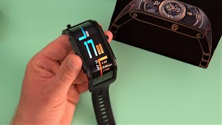 ZTE nubia Watch Review The Flexible Curved AMOLED Watch