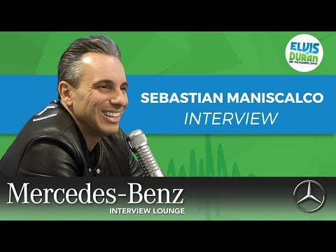 Sebastian Maniscalco on Upcoming 'Stay Hungry' Tour | Elvis Duran Show