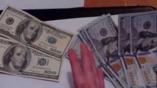 How To Tell If Your New $100 Hundred Dollar Bill Is Real Or Fake