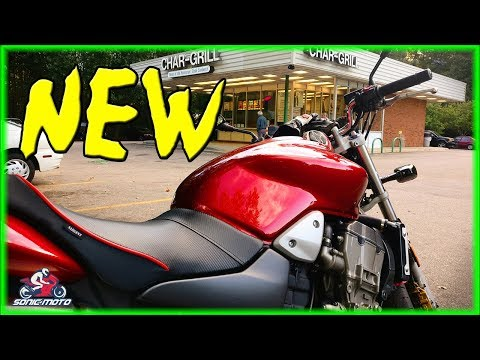 Random Thoughts and My New 2007 Honda Hornet CB900f