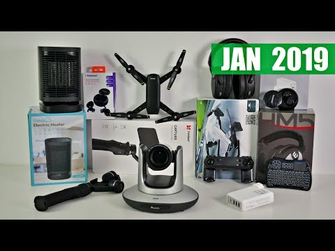 Coolest Tech of the Month January 2019 - EP#25 - Latest Gadgets You Must See