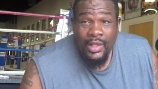 Riddick Bowe COMPARES Evander Holyfield vs Herbie Hide PUNCHING POWER