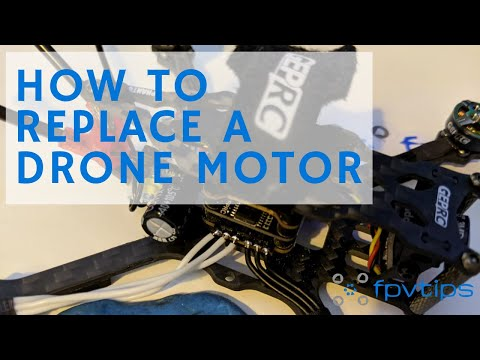 HOW TO REPLACE A DRONE MOTOR: Diagnose and swap a motor on the GEPRC Phantom toothpick quad