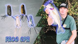 FROG CPR!!! How To Bring Your Frogs Back To Life!!! Chickamauga Summer Bass!!!