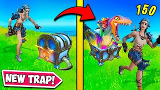 *BROKEN* CHEST TRAP is UNFAIR!! - Fortnite Funny Fails and WTF Moments! 1260