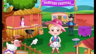 Explore Farm Castle with Baby Hazel