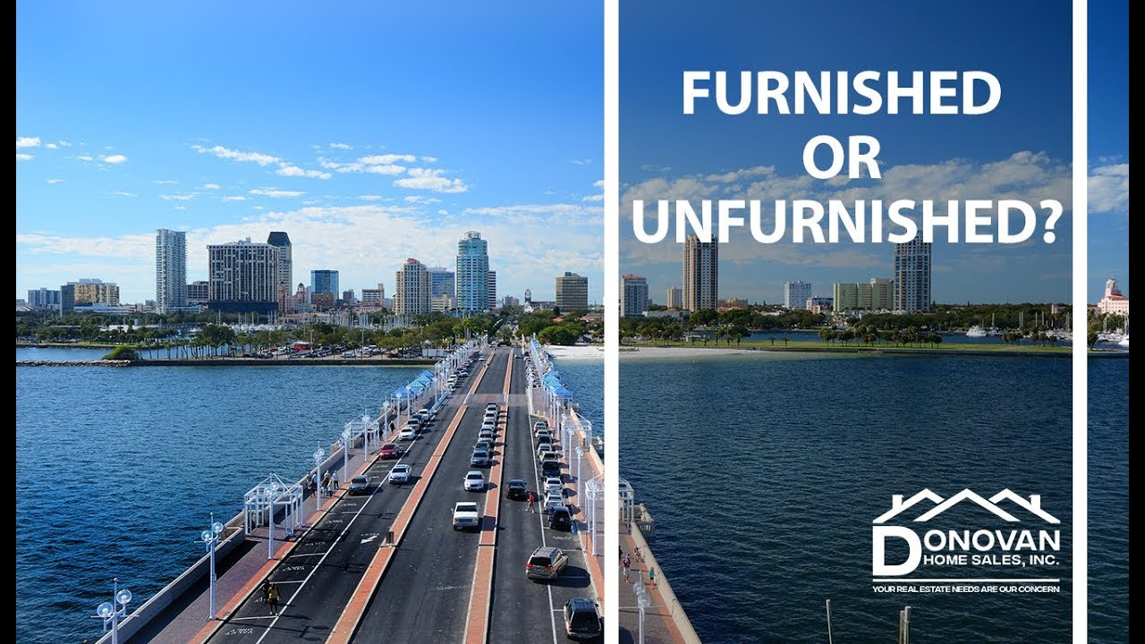 Let's Compare the Benefits and Drawbacks of Furnished and Unfurnished Listings