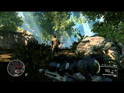 Gameplay de Sniper: Ghost Warrior 2 Collectors Edition